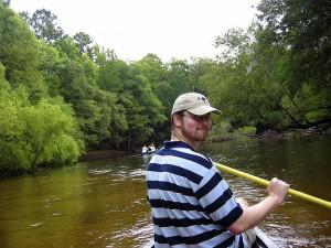 Rob Canoeing