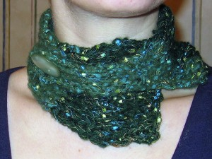 Neckwarmer Detail