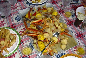 Lowcountry Crab Boil