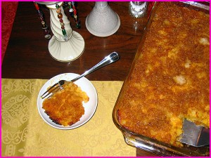Cheesy Pineapple Casserole