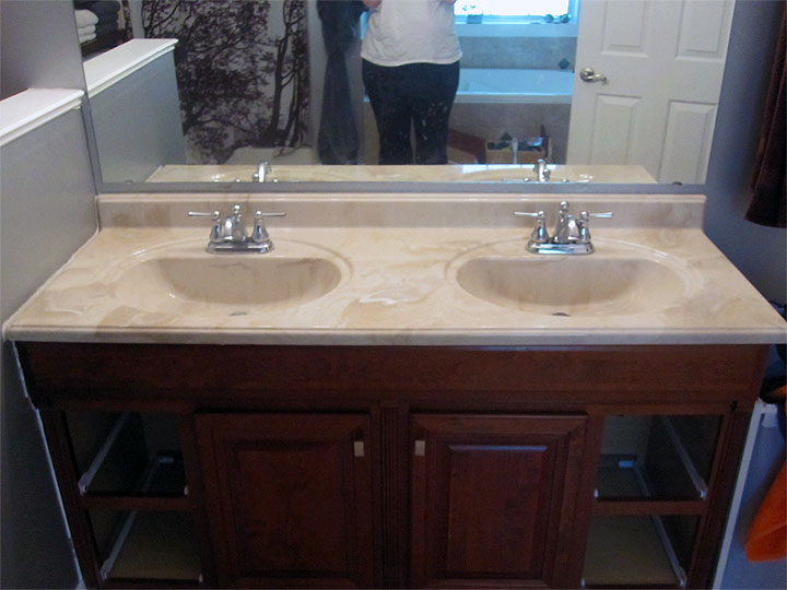 The colors of a cultured vanity top bathroom - Cultured marble bathroom vanity tops ...