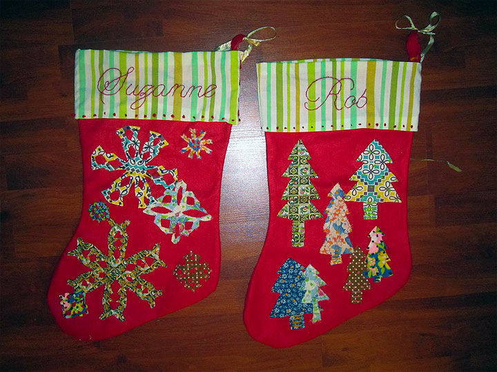 Semi Homemade Christmas Stockings Julepstyle
